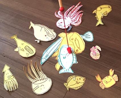 魚釣りゲーム